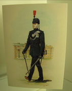 Single Greeting Card (Bugler)